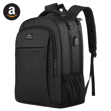 Matein Water-resistant Laptop Travel Backpack