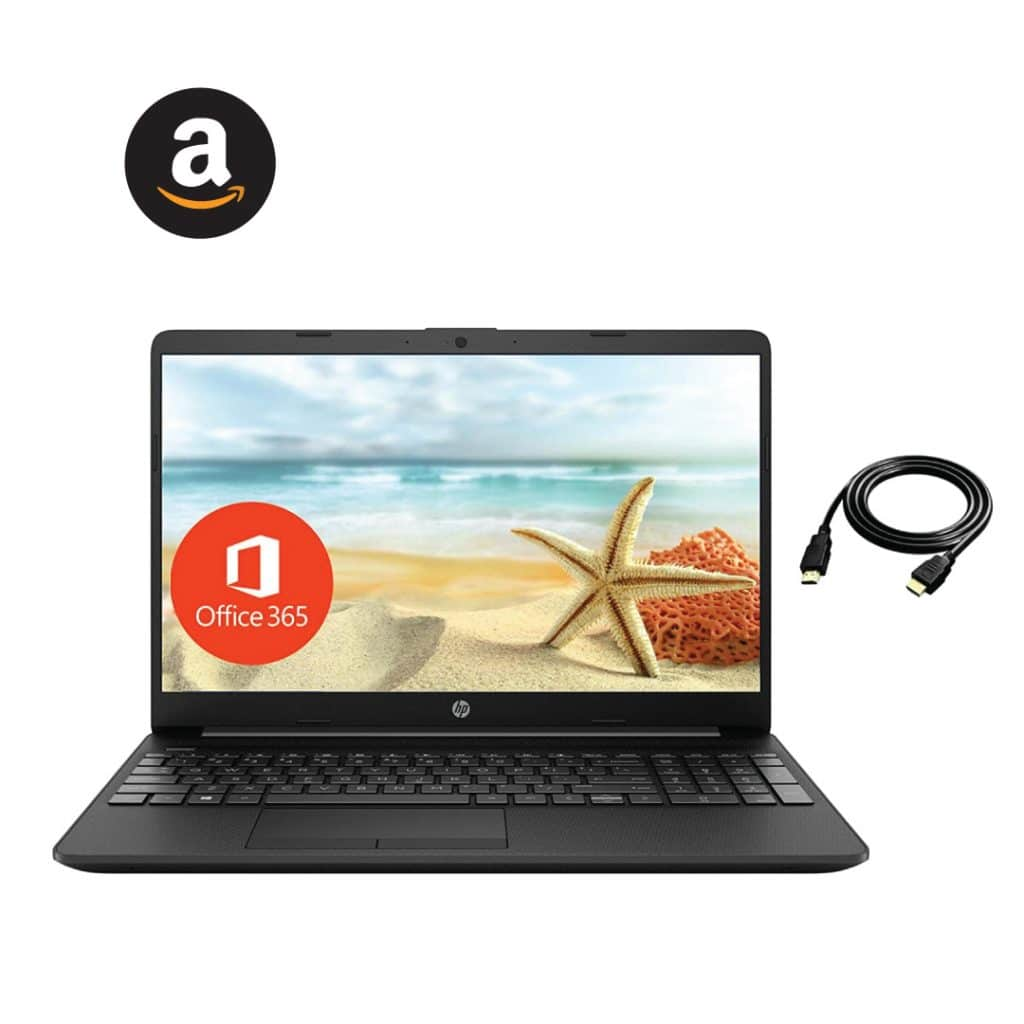 """2021 HP 15.6"""" Thin Laptop for Google Classroom Zoom meeting"""