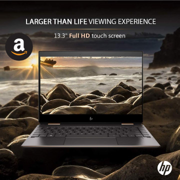 HD Spectre X360 budget laptop for streaming