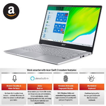 Acer swift 3 thin and light
